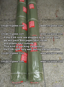 Packing of EVAFORCE EVA interlayer film for laminated glass safety glazing (25)
