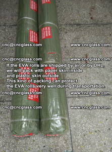 Packing of EVAFORCE EVA interlayer film for laminated glass safety glazing (40)