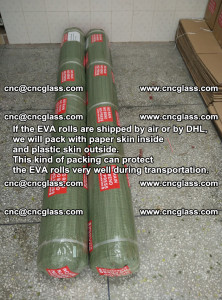 Packing of EVAFORCE EVA interlayer film for laminated glass safety glazing (50)