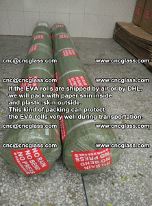 Packing of EVAFORCE EVA interlayer film for laminated glass safety glazing (57)
