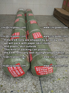 Packing of EVAFORCE EVA interlayer film for laminated glass safety glazing (59)