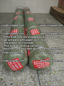Packing of EVAFORCE EVA interlayer film for laminated glass safety glazing (64)