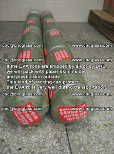 Packing of EVAFORCE EVA interlayer film for laminated glass safety glazing (65)