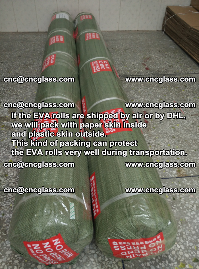 Packing of EVAFORCE EVA interlayer film for laminated glass safety glazing (70)