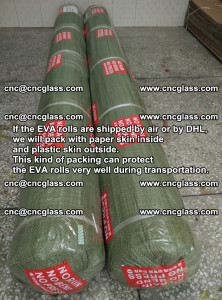 Packing of EVAFORCE EVA interlayer film for laminated glass safety glazing (71)