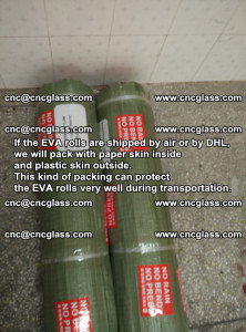 Packing of EVAFORCE EVA interlayer film for laminated glass safety glazing (72)