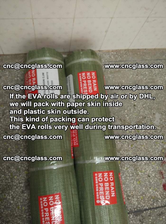 Packing of EVAFORCE EVA interlayer film for laminated glass safety glazing (74)